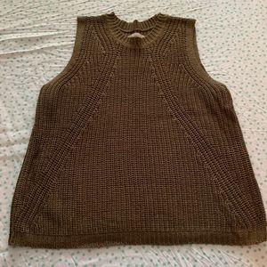 Sleeveless sweater tank - Loft - XL